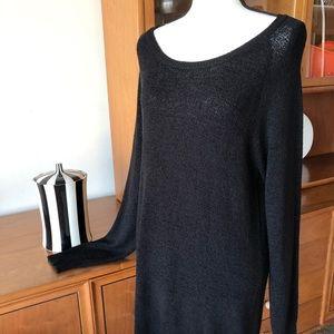 Black H&M Ladies Sweater Dress Fall, Winter, Cozy
